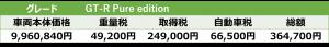 Pure edition税額表