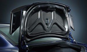 ドライカーボン製リヤスポイラー&トランクリッド