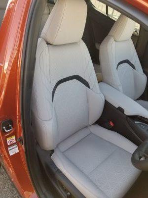 レクサスUXの内装 フロントシート