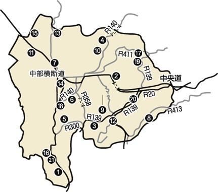 ⑩ 道の駅マップ