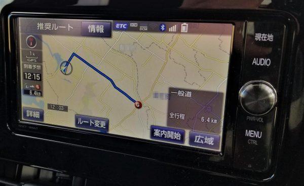 T-Connectで目的地設定
