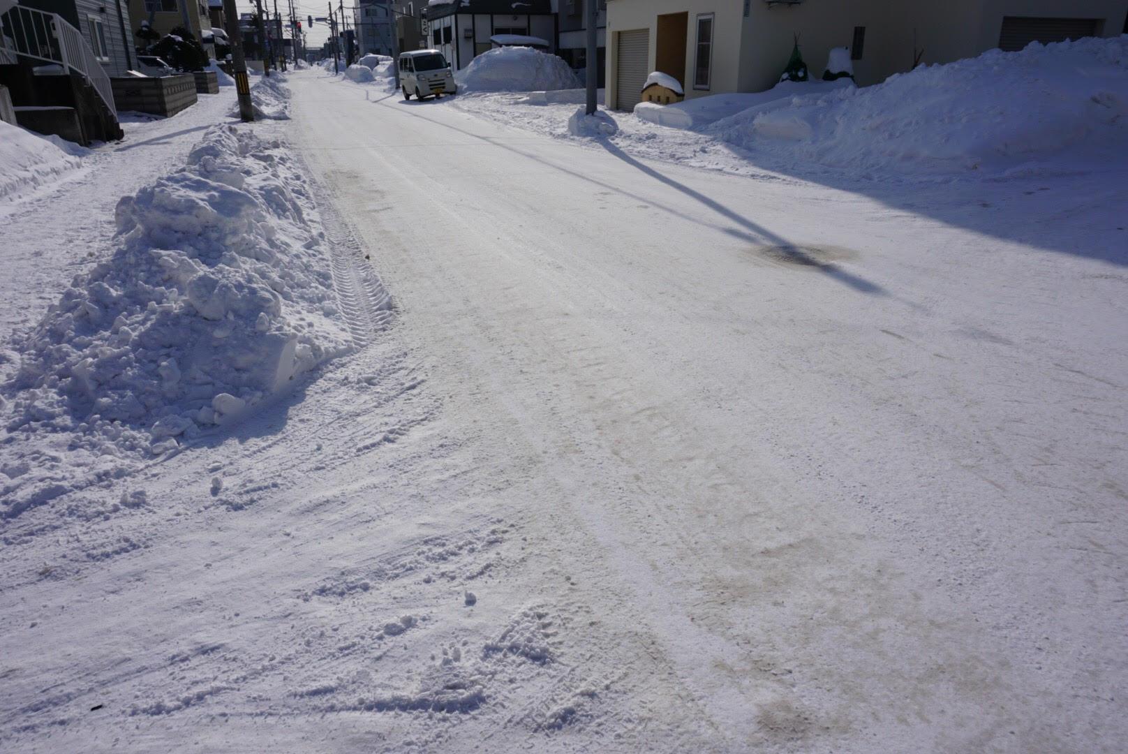 FR車 雪道 対策 スタッドレスタイヤ