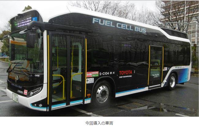 SORA交通局今回導入バス外観