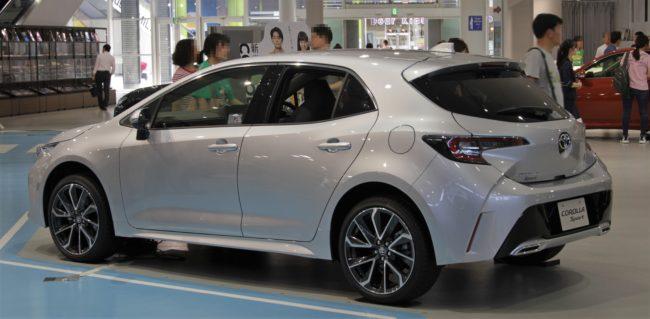 Toyota_Corolla_Sport_rear