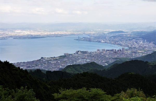 比叡山ドライブウェイの展望