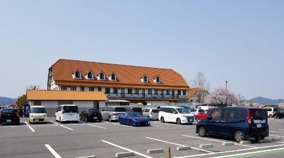 アグリパーク竜王の駐車場