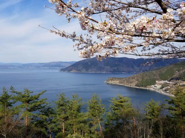 奥琵琶湖パークウエイからの展望