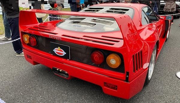 モーターファンフェスタ・フェラーリF40バック