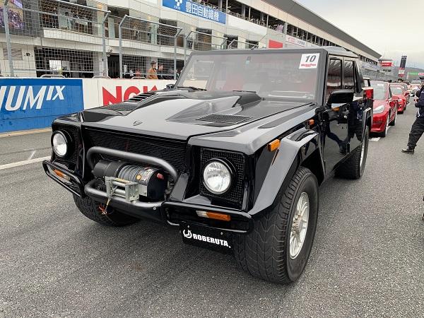 モーターファンフェスタ・ランボルギーニLM002フロント