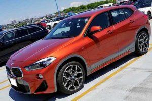 BMW X2のエクステリア